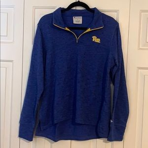 Pitt Panthers Champion quarter zip